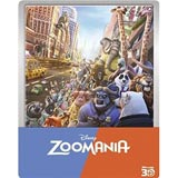 Zoomania (Steelbook) (+ 2D) [3D Blu-ray]