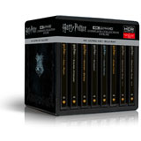 Harry Potter 4K Steelbook Complete Collection (16 Discs, + Blu-ray) [4K Blu-ray]