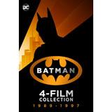 Batman 1-4 - 1989-1997 (Bundle) [HD + 4K + Dolby Vision + Dolby Atmos]