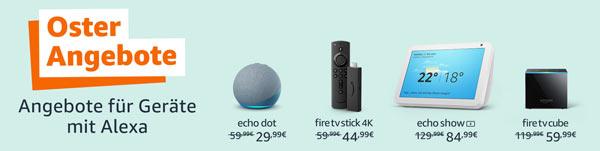 Osterangebote auf Amazon-Geräte
